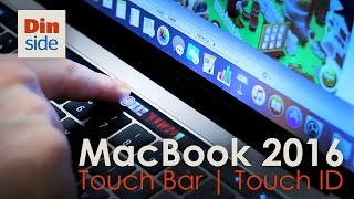 Download MacBook Pro 2016 unboxing - med Touch Bar og Touch ID Video