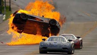 Download SUPERCAR CRASH FAILS #2 - Crashes and Fails - Crash Comps Video