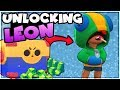 Download WE GOT LEON!! Gemming Legendary Brawler Leon | Brawl Stars | Mega Box Opening Video