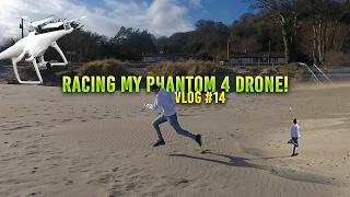 Download RACING MY PHANTOM 4 DRONE!!! // vlog #14 Video