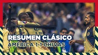 Download RESUMEN - Todos los goles Clásico: Club América 1-1 Guadalajara   J11   Liga MX Video