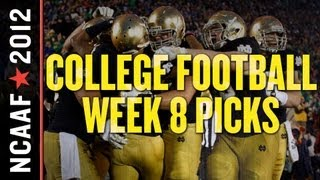 Download College Football Week 8: Picks Against the Spread Video