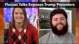 Download Fleccas Talks Exposes Trump Protesters | Katie Petrick Video