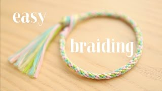 Download Braiding: easy round cord / круглое плетение ЛЕГКО! Video
