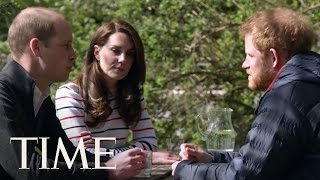 Download Princes William & Harry Talk To Princess Kate About Losing Their Mom | TIME Video