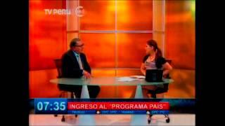 Download Entrevista a Carlos Anderson, Pdte del Ceplan sobre el ″Programa País″ de la OCDE Video