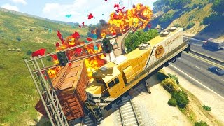 Download GTA 5 Mods - STOPPING THE TRAIN MOD! (GTA 5 PC Mods) Video