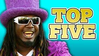 Download T-PAIN TOP 5 Video