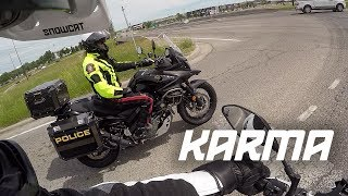Download FINALLY! INSTANT KARMA! Bad driver busted in front of cop (Bad Driver Compilation) Video