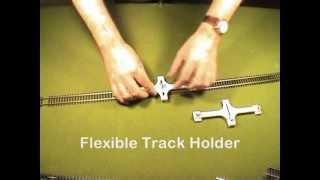 Download Track Laying Tools for HO/OO and N Scales Video