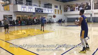 Download Steph Curry buries 93 out of 100 three-pointers after Warriors practice, day before LA Clippers Video