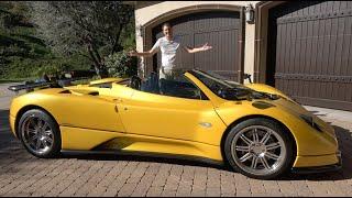 Download The Pagani Zonda Is an Insane $6 Million Supercar Video