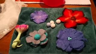 Download Radionica filcanja vune - pravljenje cvijeta Video