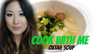 Download How to make Oxtail Soup - Cook with me Video