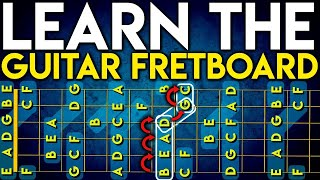 Download LEARN The Notes On The GUITAR Fretboard In 1 Day: EASIEST METHOD On YouTube. FRETBOARD MASTERY Video