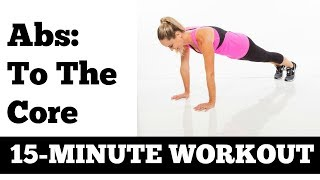 Download 15-Minute Abs and Core Workout Stomach Exercises no equipment needed Video