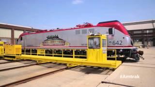 Download The Amtrak Veterans Behind the ACS64 Veterans Locomotive Video