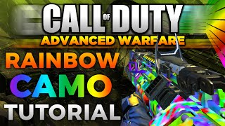 Download How to Get Rainbow Camo in Advanced Warfare Video