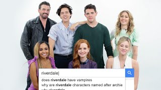 Download Riverdale Cast Answers the Web's Most Searched Questions | WIRED Video