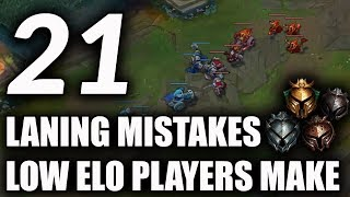 Download 21 Laning Mistakes Most Low Elo Players Make | How To Improve Your Laning For S9 ~ League of Legends Video
