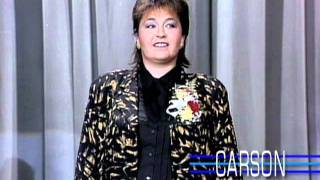 Download Roseanne Barr Makes Her 1st TV Appearance Ever on ″The Tonight Show″ - 1985 Video