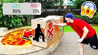 Download DON'T PUSH THE WRONG MYSTERY BOX INTO LAVA! Video