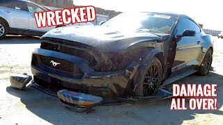 Download I Bought a TOTALED Mustang GT from Auction without seeing it! Video