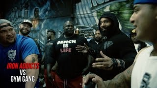 Download IRON ADDICTS Vs Gym Gang (OFFICIAL VERSION) Video