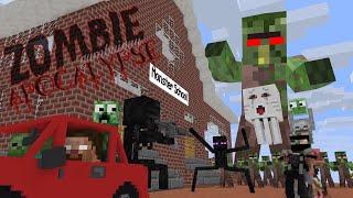 Download Monster School : ZOMBIE APOCALYPSE - Minecraft Animation Video