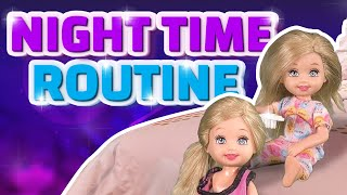 Download Barbie - The Twins Night Time Routine | Ep.138 Video