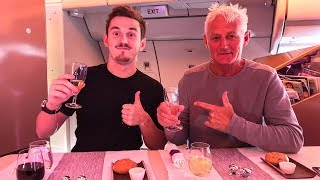 Download FLYING FIRST CLASS TO NEW YORK! Video
