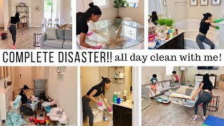 Download COMPLETE DISASTER CLEANING MOTIVATION!! // ALL DAY CLEAN WITH ME // Jessica Tull cleaning Video