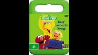 Download 123 Sesame Street Home Video Kids Favorite Songs DVD Australian 2006 Video