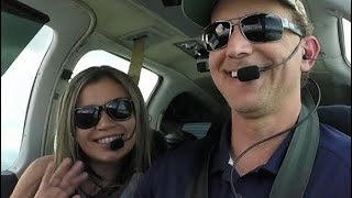 Download Racing the weather Flying from Orlando to Punta Gorda, Florida. Video