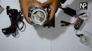 Download รีวิว Projector bi - xenon ขนาด 2.2 นิ้ว สำหรับ รถจักรยานยนต์ Video