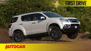 Download ISUZU MU X | First Drive | Autocar India Video