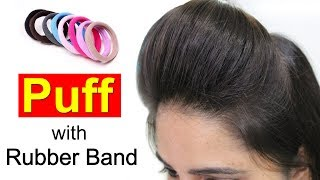 Download Front Puff for Thin Hair | Quick & Easy Hairstyles with Puff Video