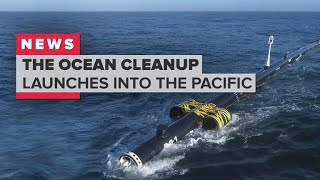 Download The Ocean Cleanup launches to the Great Pacific Garbage Patch Video