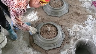 Download How To Build Home Foot Detail With Cement And Sand Video
