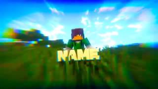 Download FREE MINECRAFT ANIMATION INTRO TEMPLATE Blender Video
