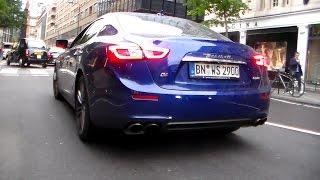 Download Maserati Ghibli Crazy revs & lovely sound HD Video