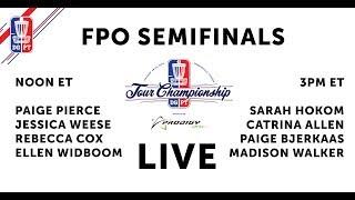 Download 2018 Disc Golf Pro Tour Championship - FPO Semifinals Video