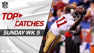 Download Top Catches from Sunday | NFL Week 5 Highlights Video