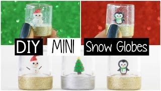 Download DIY MINI SNOW GLOBES - Three Easy & Cute Designs! Video