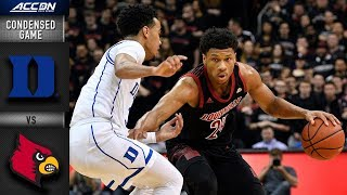 Download Duke vs. Louisville Condensed Game   2018-19 ACC Basketball Video