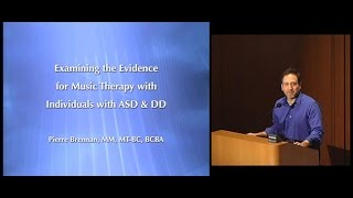 Download Examining the Evidence for Music Therapy with Individuals with ASD and DD Video