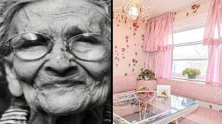 Download 96-Year-Old Sells House. When She Opens Door Buyers Freak Out Video