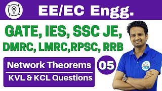 Download 6:00 PM | Electrical Engineering by Ashish Sir | Day #05 | Network Theorems and KVL & KCL Questions Video