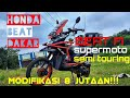 Download Modifikasi 8 jutaan!! Beat supermoto semi touring || tubular beat supermoto || RnB chapter batang Video
