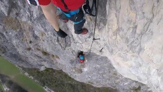 Download Absturz Kaiser Max Klettersteig / Via Ferrata / Climbing Fall - Martinswand Video